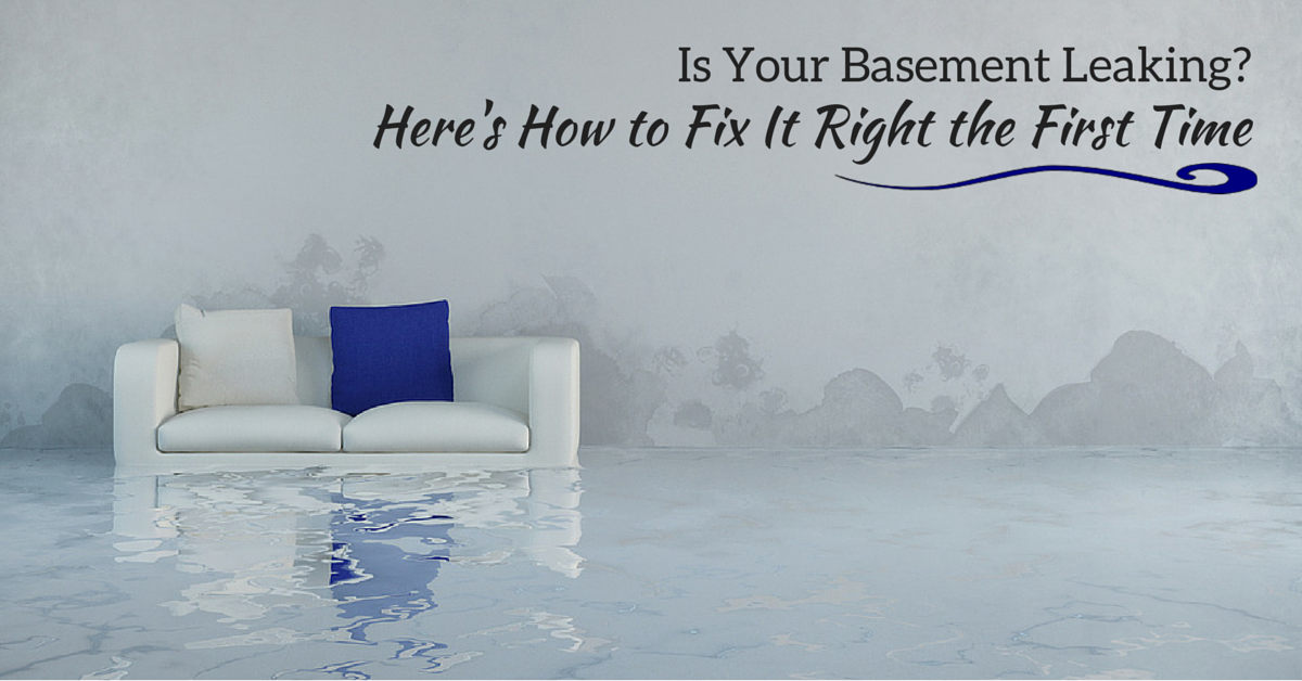 signs you should invest in basement waterproofing