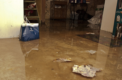avoid flooding in your home by waterproofing